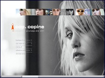 Aper�u du site Cop Copine - collection de v�tements femme, catalogue Cop Copine