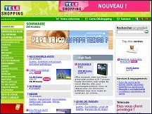 Aper�u du site T�l�Shopping - boutique t�l� achat en ligne du T�l�Shopping TF1
