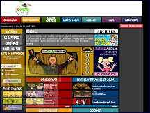 Aperçu du site Studio K-Putty
