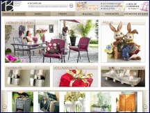 Aper�u du site Brigitte France - catalogue VPC objets d�coration et �quipement de maison