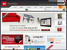 Magasin but en ligne meubles lectrom nager for Literie en ligne
